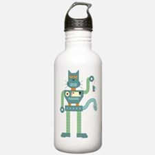 Robot Cat & Mouse Water Bottle