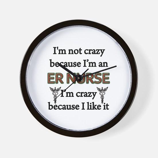 Funny Registered nurse Wall Clock