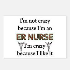 Unique Er nurse Postcards (Package of 8)