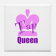Tap Queen Tile Coaster