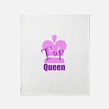 Tap Queen Throw Blanket