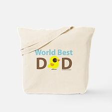 """World Best Dad"" Tote Bag"