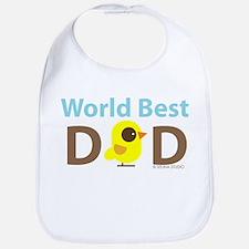 """""""World Best Dad"""" Bib"""