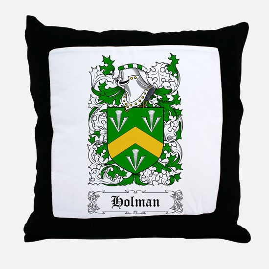 Holman Throw Pillow