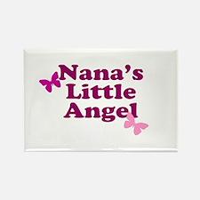 Nana's Little Angel Rectangle Magnet