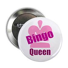 """Bingo Queen 2.25"""" Button"""