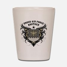 Proud Air Force Brother Shot Glass