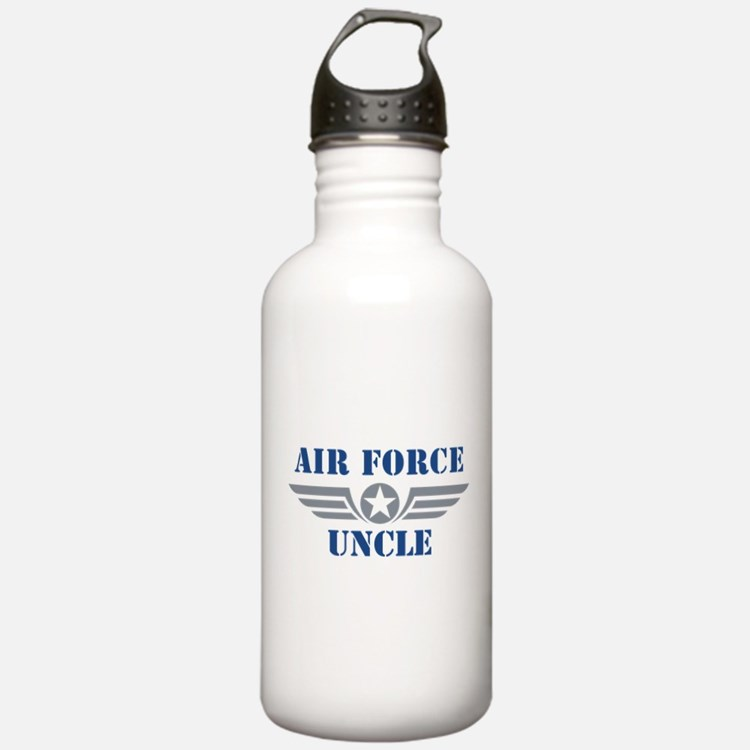 Air Force Uncle Water Bottle