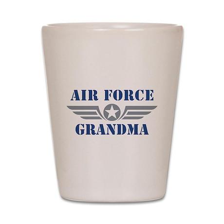 Air Force Grandma Shot Glass