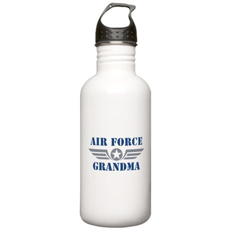 Air Force Grandma Stainless Water Bottle 1.0L