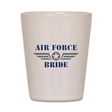 Air Force Bride Shot Glass