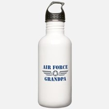 Air Force Grandpa Water Bottle