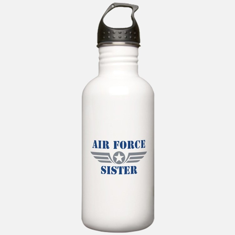 Air Force Sister Water Bottle
