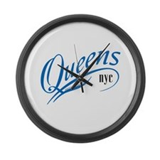 Queens, NY Large Wall Clock
