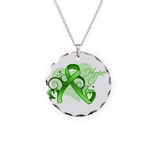Lymphoma Hope Heart Necklace