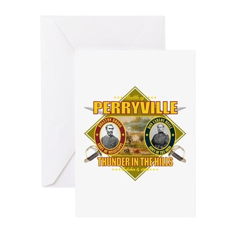 Battle of Perryville Greeting Cards (Pk of 10)