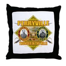Battle of Perryville Throw Pillow