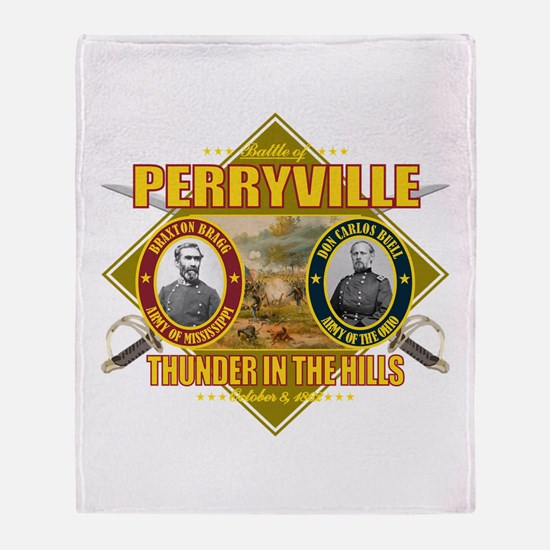 Battle of Perryville Throw Blanket