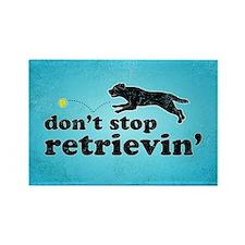 Funny Funny labrador retriever Rectangle Magnet
