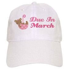 Due In March Pregnancy Announcement Hat