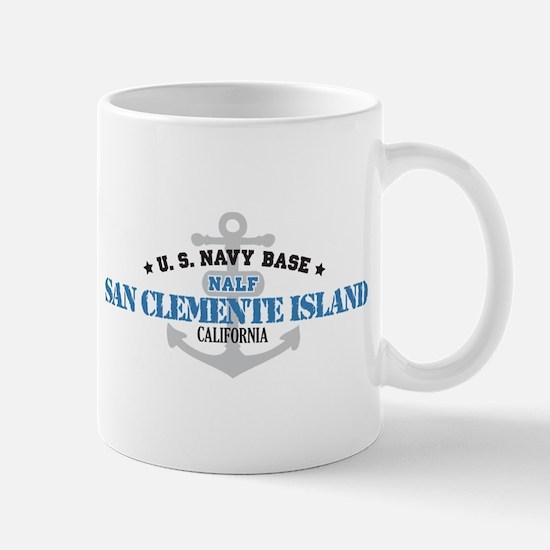 US Navy San Clemente Base Mug