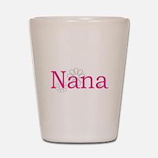 Nana Pink Shot Glass