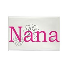 Nana Pink Rectangle Magnet