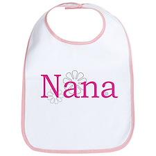 Nana Pink Bib