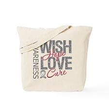 Diabetes Wish Hope Cure Tote Bag