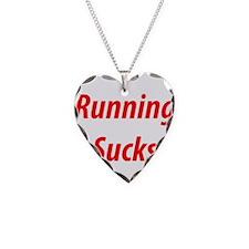 Cute Running sucks Necklace