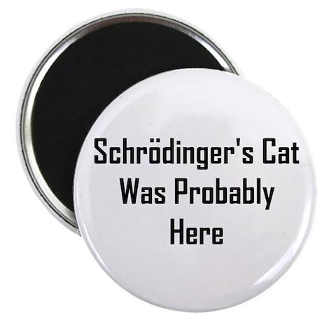 Schrodinger's Cat Was Probabl Magnet