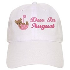 August Maternity Announcement Due Date Hat
