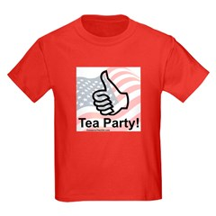 Thumbs Up For The Tea Party T