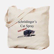 Schrodingers Cat Spray Tote Bag