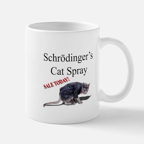 Schrodingers Cat Spray Mug