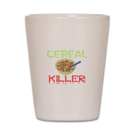 Cereal Killer Shot Glass