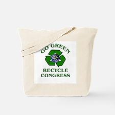 Go Green ~ Tote Bag