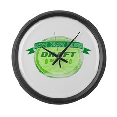 Draft Beer Large Wall Clock