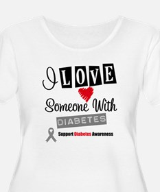 I Love Someone With Diabetes T-Shirt