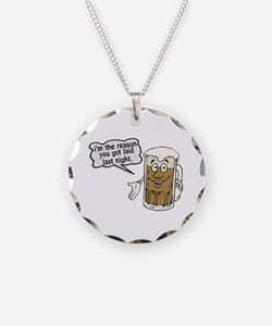 Beer Is The Reason Necklace
