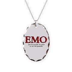 Emo Excuse Necklace