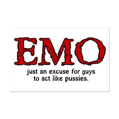 Emo Excuse Posters