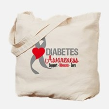 Diabetes Support Cure Tote Bag