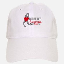 Diabetes Support Cure Baseball Baseball Cap