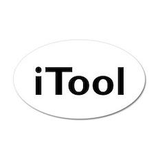 iTool 22x14 Oval Wall Peel