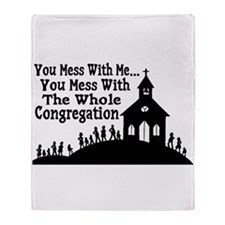 Whole Congregation Throw Blanket