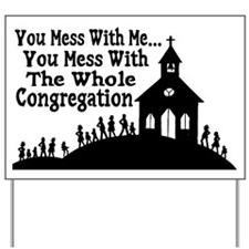 Whole Congregation Yard Sign