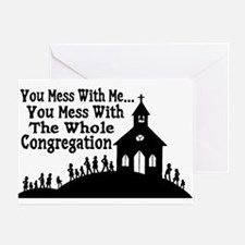 Whole Congregation Greeting Card