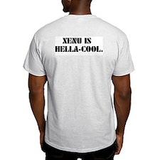 HAIL XENU! Ash Grey T-Shirt