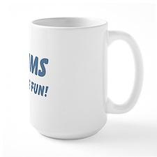 Twin Mums Have Twice The Fun Mug